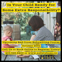Babysitting Course at Safety Buzz