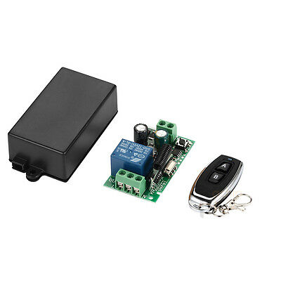 433Mhz Universal Wireless RF Remote Control Switch AC 220V 1CH Relay Receiver