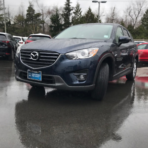 2016 MAZDA CX-5 GS-L AWD **Leather Seats**NAV**LOW LOW KM**