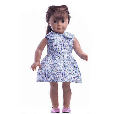 Best sweet girl Gift clothes  for 18inch American girl doll party n609
