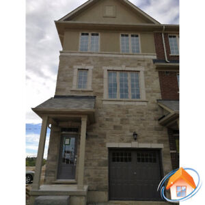 Oakville Trafalgar Dundas 3 bedroom end unit new townhouse rent