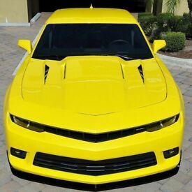 2x Car Black Universal Bonnet Air Intake Vents