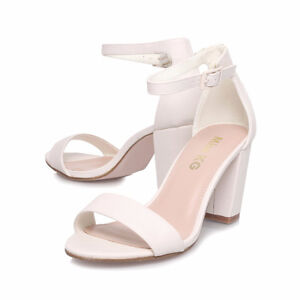 Chaussures à talons blanches