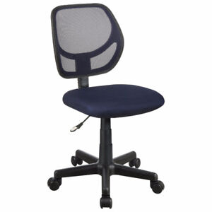 Milbrook Mesh Task Chair -Options BLUE, BLACK, PURPLE or GREY.