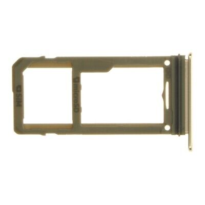 SIM Micro SD Card Tray for Samsung Galaxy Note 8 Gold