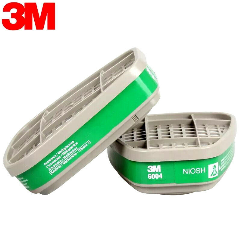 3M 6004 Ammonia Methylamine Replacement Cartridge, 1 Package of 2 Cartridges Automotive Tools & Supplies