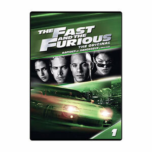 Fast & Furious Set #1-7 with $50 Movie Money (DVD)