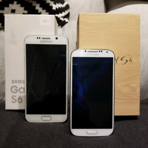 Samsung S6 and S4! 2 for price of 1