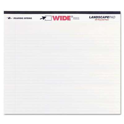 Roaring Spring Wide Landscape Format Writing Pad College Ruled 070972745001