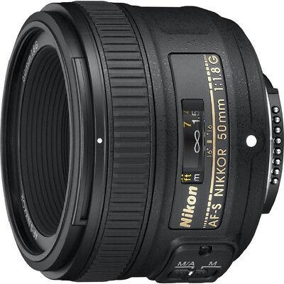 Nikon AF-S Nikkor 50mm f/1.8G Lens - Factory Refurbished