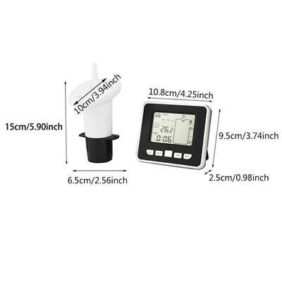 Ultrasonic Water Level Sensor Ultrasonic Level Gauge With Liquid Thermometer