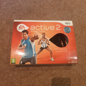 EA Sports active 2 Personal Trainer for Nintendo Wii