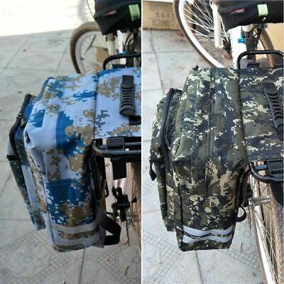 Mountain Road Bike Camo Trunk Bags Cycling Double Side Rear
