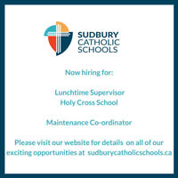 Lunchroom Supervisor and Maintenance Co-ordinator