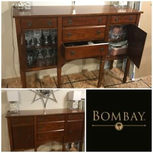 Bombay Company Dining Room Buffet Sideboard Credenza