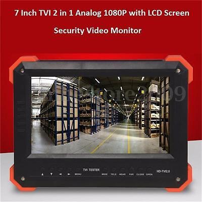 7 X41t Hd-tviahd2.0hd Lcd Camera Tester Cctv Video Monitor Analog Vga Hdmi