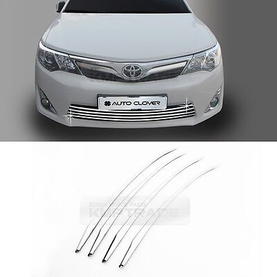 Chrome Front Lower Radiator Grille Garnish Molding for 2012 - 2014 TOYOTA Camry