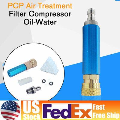 Pcp Air Treatment Filter Compressor Oil-water Separator 30mpa 300bar Pump Kit