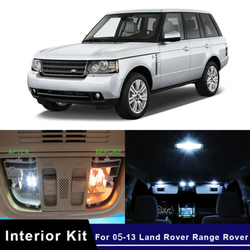 Land Rover Range Rover Sport LS 55w ICE Blue Xenon Low//LED Side Light Bulbs Set