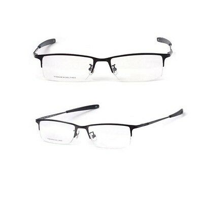 NEW Pure Titanium men glasses optical frames spectacle Eyeglass frames Black