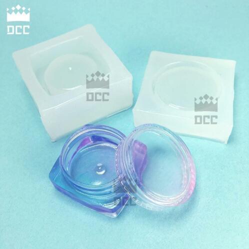 Wonderbaarlijk ≥ 1 Set Mini Maat Vierkante doos vloeibare siliconen mal DIY EO-57