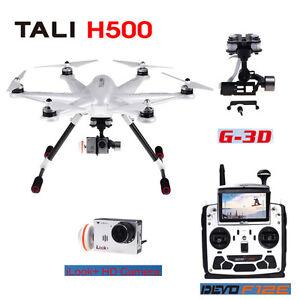 DRONE HEXACOPTERE WALKERA TALI H500 RTF + GIMBALL+ CAMERA ++
