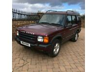 W 2000 Land Rover Discovery GS 2.5 TD5 Manual, half leather, tow pack, 2keys