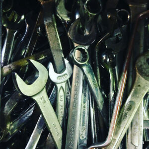 Wrenches $1 each, over 1000 wrenches & LOTS of TOOLS 4Sale