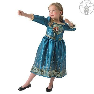 RUB 3610280 Merida Loveheart Disney Kinder Kostüm Prinzessin Highlands
