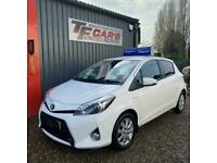 2014 Toyota Yaris 1.5 Petrol VVT-i Hybrid Icon+ 5 Doors - FREE ROAD TAX! HATCHBA