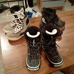 Snowboard Boots for Sale! 3 pairs available!