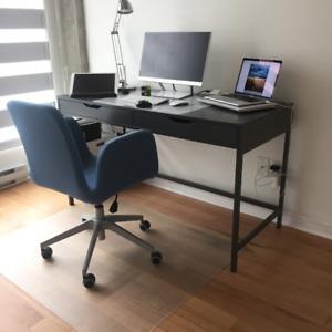 Bureau IKEA Alex - gris / Office Desk IKEA Alex - gray