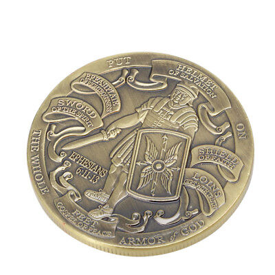 Put On The Full Armor Of God / Marine Corps Commemorative Coins Collectible - The Armour Of God