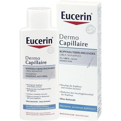 EUCERIN DermoCapillaire kopfhautberuhigendes Urea Shampoo 250 ml PZN9508059