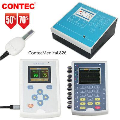 Contec Spo2 Simulator Blood Pressure Nibp Simulator Ecg Patient Simulator Ce
