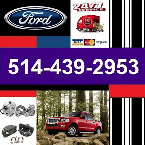Ford Explorer ► Bearings, Calipers • Roulements, Étriers
