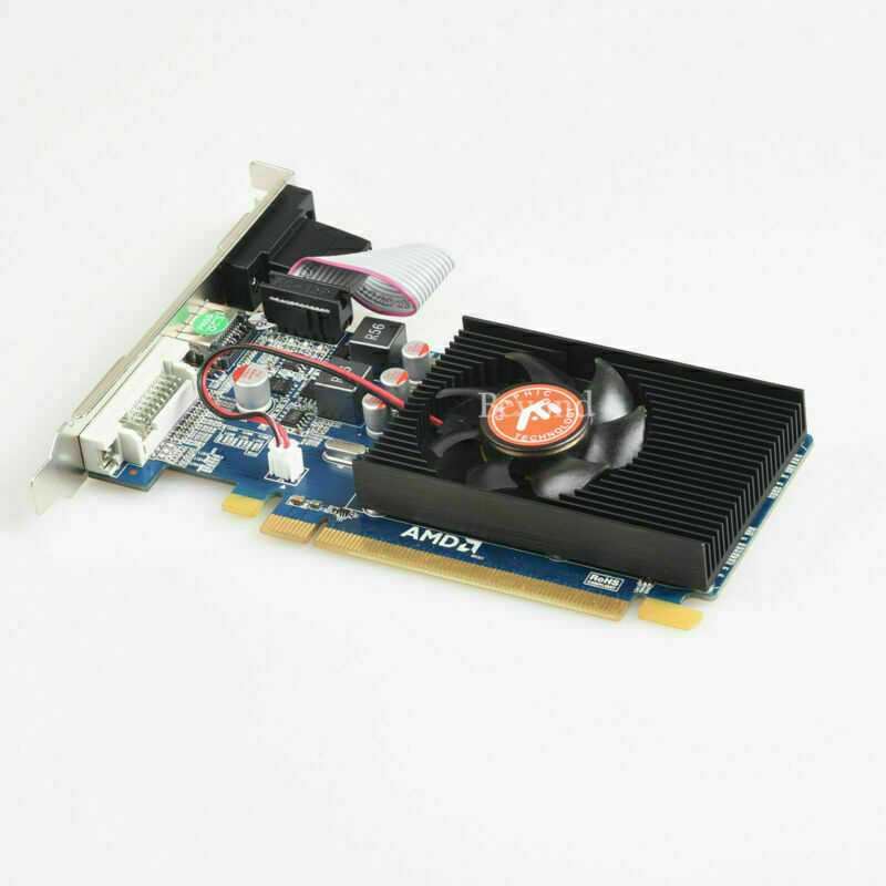 2GB AMD ATI Radeon HD 7450 VGA HDMI DVI PCI-E Video Card US Fast Shipping #Aka