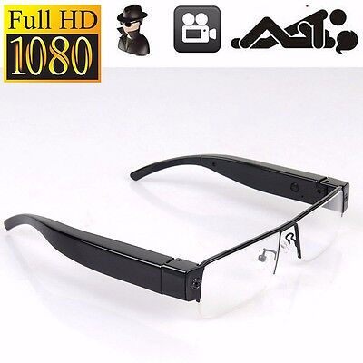 Full HD 1080P Spy Glasses Hidden Camera Security DVR Video Recorder Eyewear USA