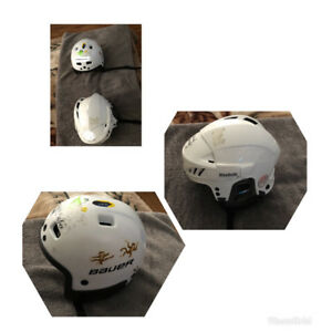 2 Ice skating helmets for small kids