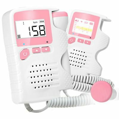 Pocket Fetal Doppler Prenatal Baby Heart Rate Detector Household Beat Monitor