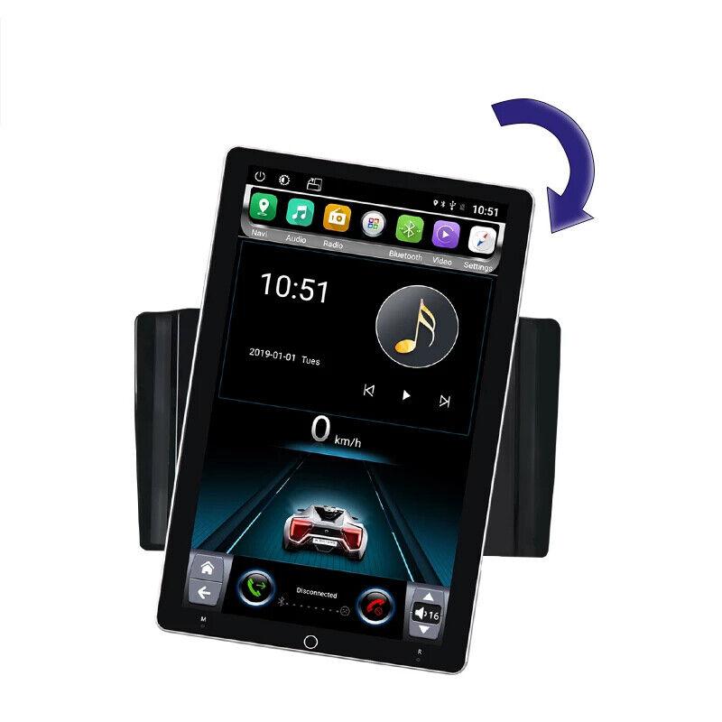 "10.1"" Android 10 Rotate Vertical Screen WIFI Car Radio Stereo BT Navi Head Unit"