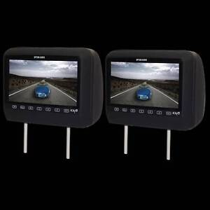Option Audio DVD Headrests – Black Fyshwick South Canberra Preview