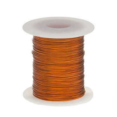 20 Awg Gauge Enameled Copper Magnet Wire 4 Oz 78 Length 0.0343 200c Natural