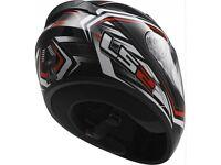 New LS2 FF352 Rookie Ranger Helmet Black/Red