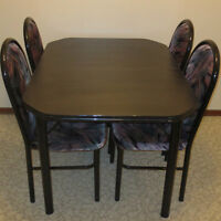 Dining set for four