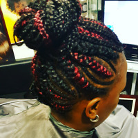 Tresses africaines, nattes,twists,crochets,tissageect