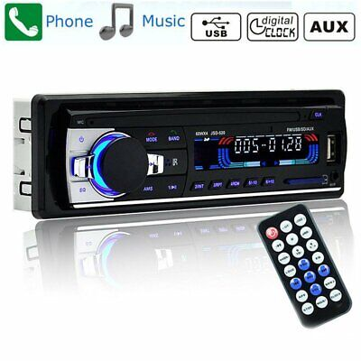 Car Radio Stereo Bluetooth Player Head Unit MP3/USB/SD/AUX-IN/FM In-dash