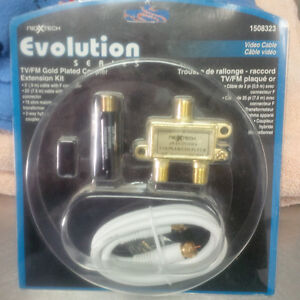 Gold Plated Extension Video Cable Kit