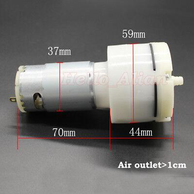 Dc 5v-12v 9v Large Flow Air Oxygen 555 Motor Pump Vacuum Negative Pressure Pump