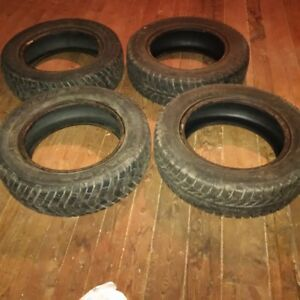 Set of Four.   175 65R 14 Snow Tires. Will fit a Toyota Echo.